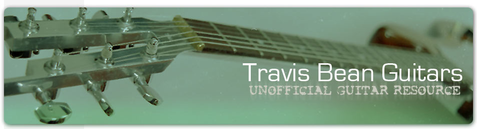 Travis Bean Guitars - Unofficial Guitar Resource - Header